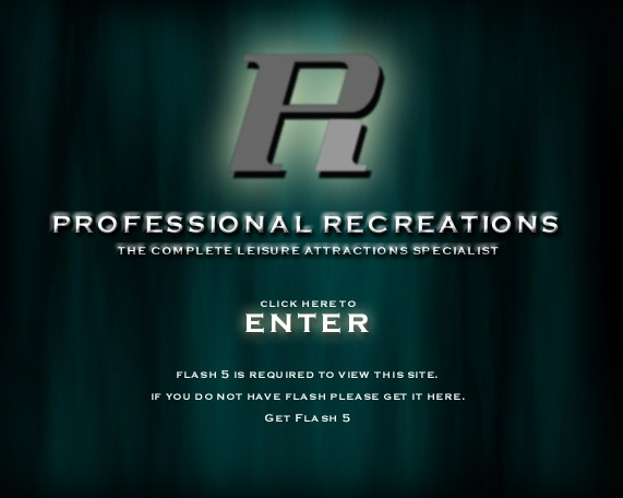 Professional Recreations - The Complete Lesiure attractions specialist